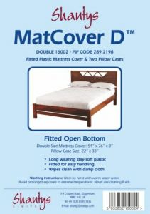 SHANTYS MATTRESS COVER - DOUBLE BED