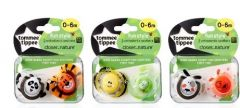 [3] TOMMEE TIPPEE CTN FUN SOOTHERS 0-6M