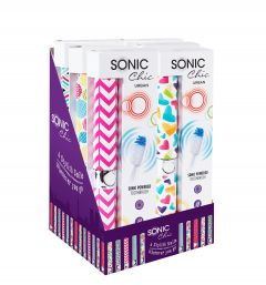 SONIC CHIC URBAN TOOTHBRUSHES