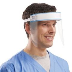 FACE SHIELD - REUSABLE & WIPEABLE