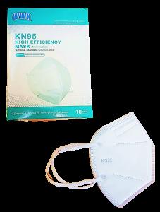 KN95 HIGH EFFICIENCY MASK, NON-MEDICAL, 10-PK