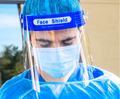 FULL FACE SHIELD - DISPOSABLE VISOR