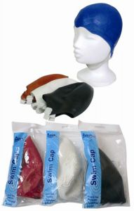 AQUA SAFE SWIM CAP CHILDS STRAPPED (D)