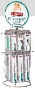 TITANIA PHARMACY LINES TABLE STAND ROTATING DEAL