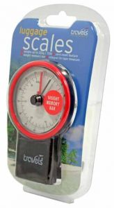TRAVELS LUGGAGE SCALES BLISTER